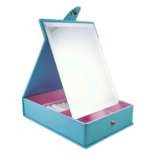 tabletop makeup mirror with storage boxes