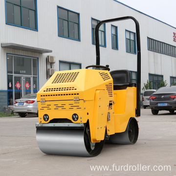 High efficiency ride-on type ground compactor road roller for sale FYL-860