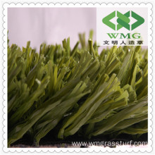 PU Backing, Stem Fiber Artificial Grass for Landscaping, Garden or Football