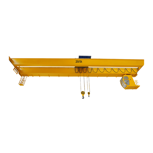 Factory use 20ton double beam overhead bridge crane