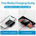 Hot sale mini power bank with fast charger