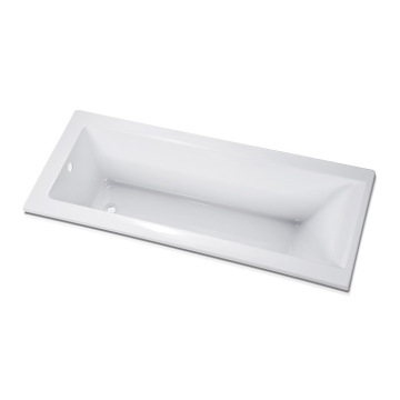 Fiberglass Deep Drop-in Bath Tub in Acrylic