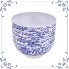 "7"" Melamine dinnerware Deep Bowl set of 6"