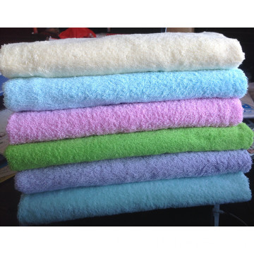 100% cotton plain bath towel