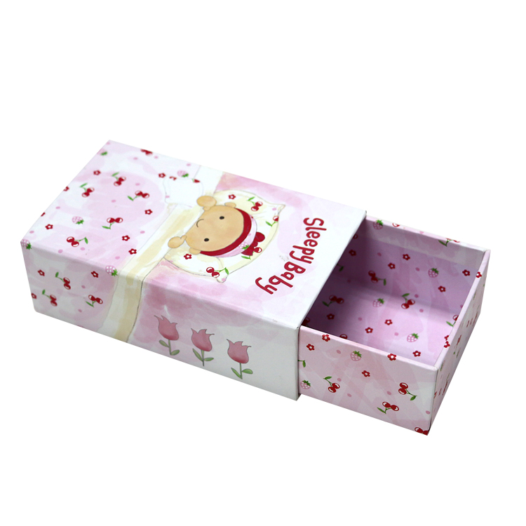 Color Printing Drawer Gift box for Wedding