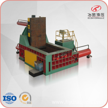 Steel Turnings Baling Press with PLC Automatic Control