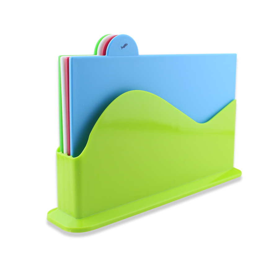 index plastic cutting board set