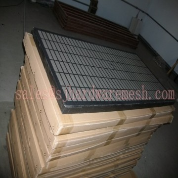 Swaco composite screen for oil shale shaker machine