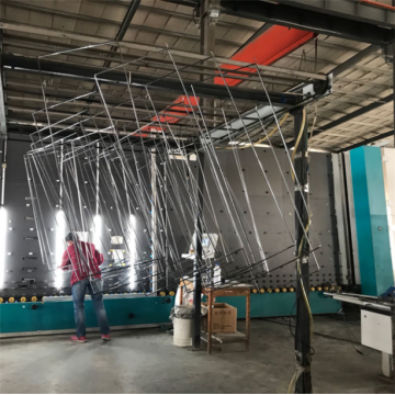 Full Automatic Vertical CNC Insulating Glass  Line