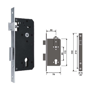 Classic Mortise Locks for Interior Doors