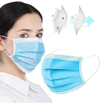 Disposable Face Mask 3 ply Medical Surgical Mask