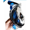 New design mask diving integrated snorkel