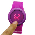 Hot Sale Girls Digital LED Silicone Band Watch