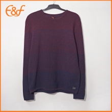 Round Collar Pullover Knitwear Sweaters For Men