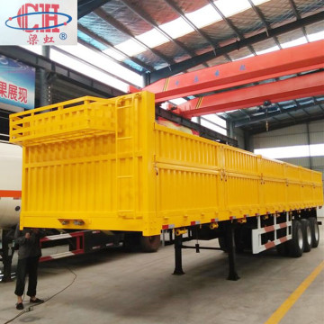 Tri- Axle Side Wall Cargo Semi Trailer
