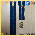 Navy Blue 4YG Semi Auto Lock Metal Zipper