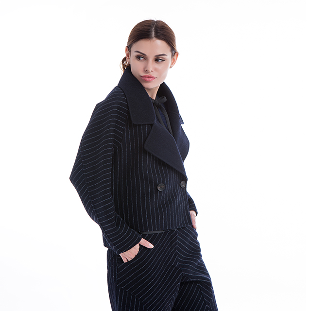 Cashmere fashion suit