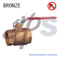 NSF Material Lead Free Casting Bronze Ball Valve