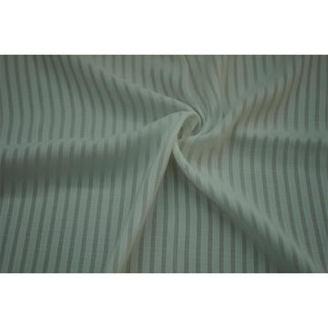 100% Polyester Sea Island Combine Yarn Stripe Fabric