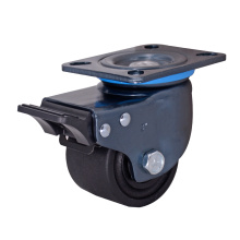 3 Inch Low Profile Caster with Brake