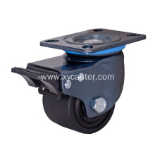 3 Inch Low Gravity Nylon Caster With Brake