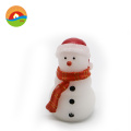 snowman gift candle flameless Led christmas tree candle