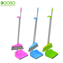 Straight Iron Pole Brooms and Dustpan DS-866
