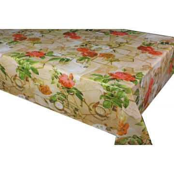 Elegant Tablecloth with Non woven backing Ireland