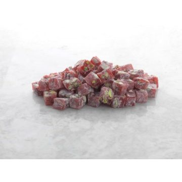 Hard Consistency Turkish Delight Pistachio with and Pomegranate 500 g
