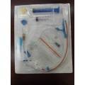 Disposable anti-microbial central venous  catheter set