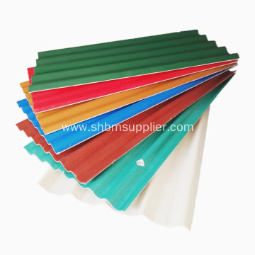 Non-asbestos Waterproof PET Foil MgO Roofing Sheets