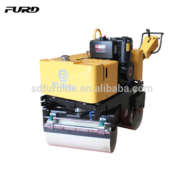 High Power Diesel Engine Hand Vibratory Steel Wheel Roller (FYL-800C)