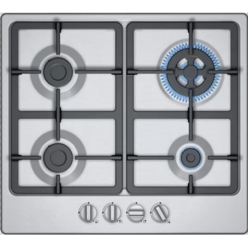 4 Burner Stainless Steel Hob Natural Gas