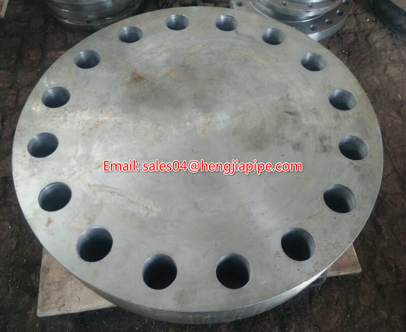 ANSI B16.5 forged blind flange