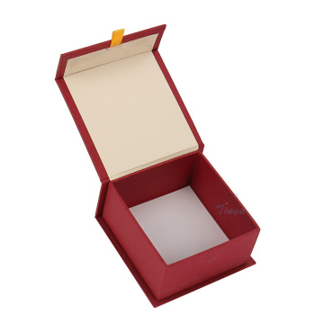 Earring Paper Box Packaging Red Cardboard Boxes