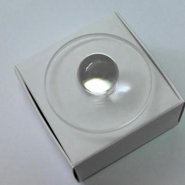 Optical Ball Lens for Fiber Coupling and Collimation