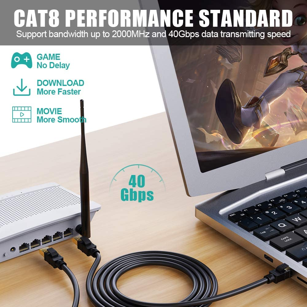 CAT8 Ethernet Cable-05