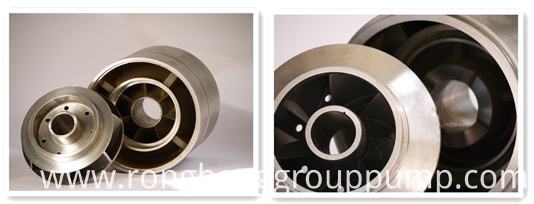 stainless steel impeller and diffuser