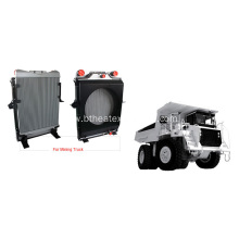 Air-Cooled Heat Exchangers for Mining Truck