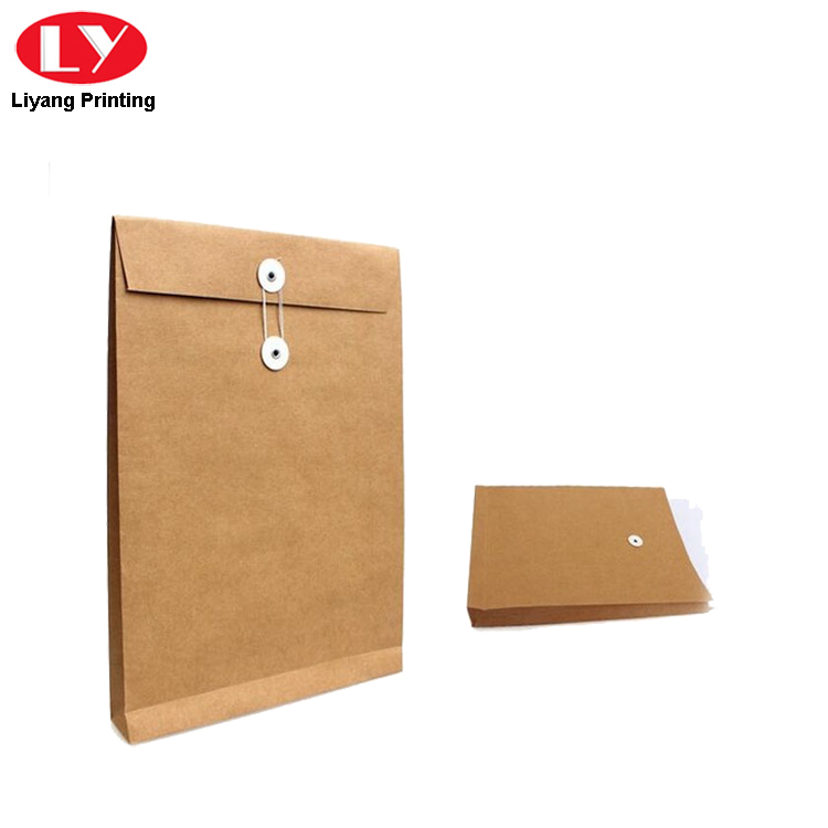 Kraft Envelope Document Bag
