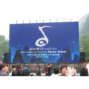 Energy Saving Full Color Outdoor Rental LED Display