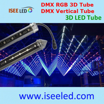 Programmable Dmx Light 3d Tube For Club Decor