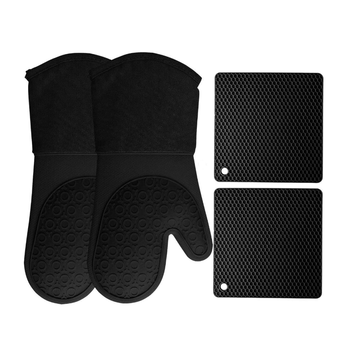 Custom BPA Free Silicone Silicone Oven Mittens