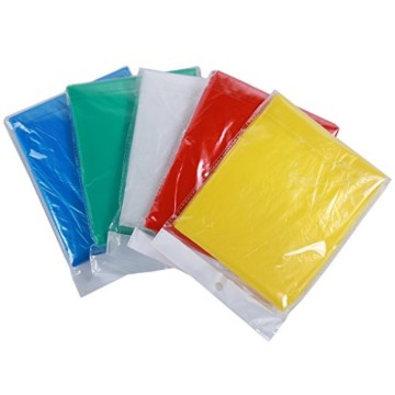 Waterproof custom wholesale Disposable emergency PE rain poncho/rain coat