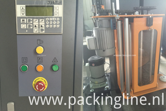 Food Packing Machine (control panel and film carriage)