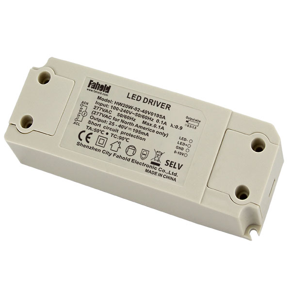 0-10V dimmable driver