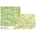 Hot Products Green Frosted Ice Series Mosaic Tiles