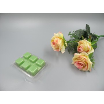 Scented Apple Green Colored  Wax Block