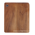 Square wood cutting board with hole