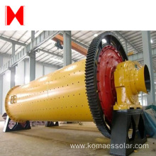 Grate Ball Mill for pulverizing ores and materials
